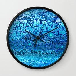 BlueFlow Wall Clock