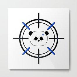 Panda Acquired Metal Print
