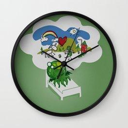 Unspeakable Nightmare Wall Clock