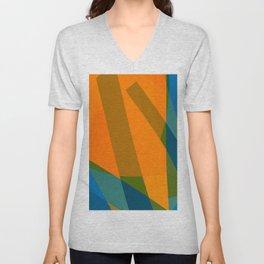 Orangeblue Unisex V-Neck