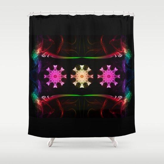 Smoke Art 126 Shower Curtain