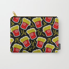 Fries before guys / Black Carry-All Pouch