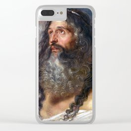 Peter Paul Rubens Study of Two Heads Clear iPhone Case