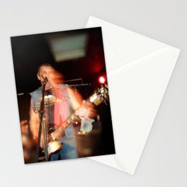 Joey from D.O.A live onstage Stationery Cards