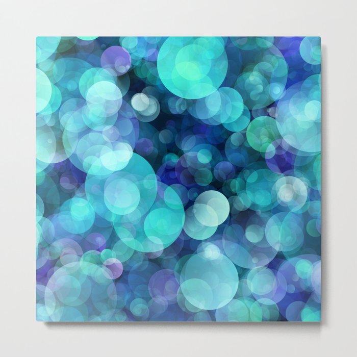 Bubbles 004 Metal Print