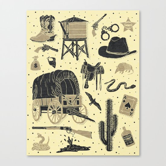 Mild West Canvas Print