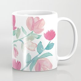 Lovely spring floral fantasty watercolor Coffee Mug