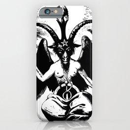 Der Baphomet iPhone Case