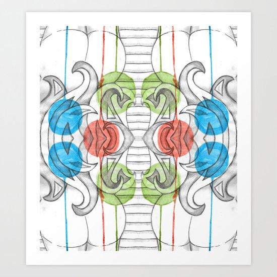 Ample Art Print