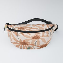 organic flowers Fanny Pack