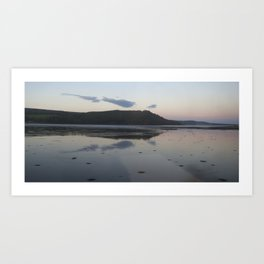 Highland loch Art Print