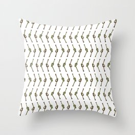 Good Kisser Throw Pillow