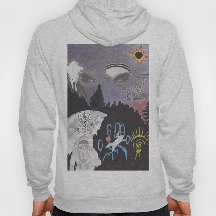 Aliens among us Hoody