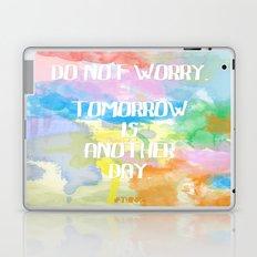 DO NOT WORRY Laptop & iPad Skin