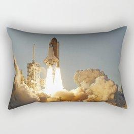 Space Shuttle Atlantis Rectangular Pillow