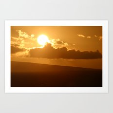 Hawaiian Sunrise Art Print