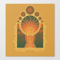 Princess of Flame Canvas Print