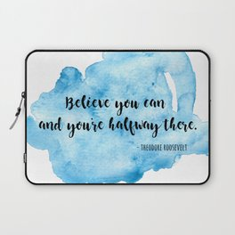 Inspirational life quote Laptop Sleeve