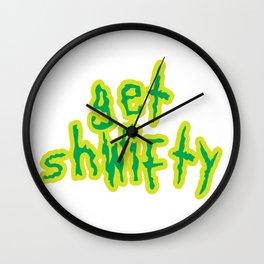 Baesic Get Shwifty Wall Clock