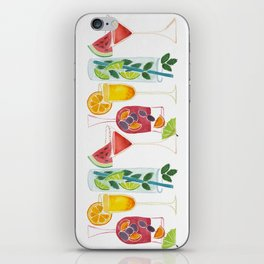 Summer Cocktails iPhone Skin