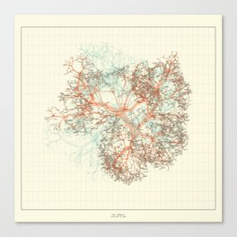 Arbor Ludi: Tal Canvas Print