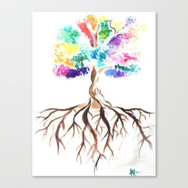 The Singing Tree Canvas Print