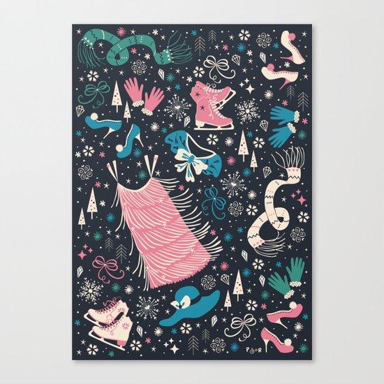 Frou Frou Canvas Print