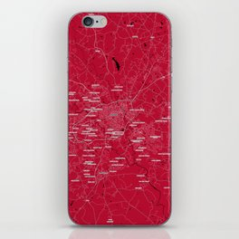 FanMap   NCAA UGA #03 iPhone Skin