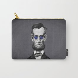 Abraham Lincoln (Steampunk) Carry-All Pouch
