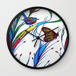 Sweet Nature Wall Clock