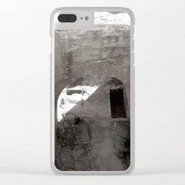 Travel Photograph Rock & A Hard Place 3 Clear iPhone Case