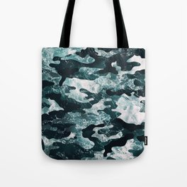 Surfing Camouflage #2 Tote Bag