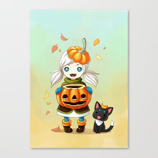 Pumpkin 2 Canvas Print