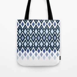 Diamonds in colors of sea and sky Tote Bag