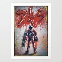 akira Art Prints featuring Akira by Joe Badon