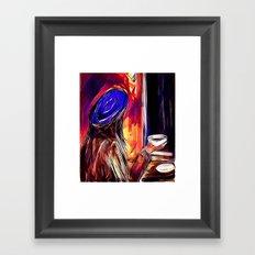 A Second Cup Framed Art Print