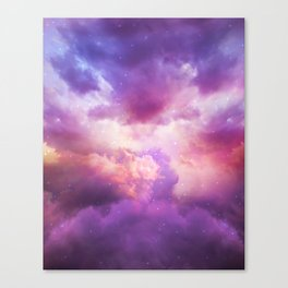 The Skies Are Painted Canvas Print