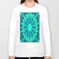 teal Long Sleeve T-shirts featuring Teal. by 2sweet4words Designs