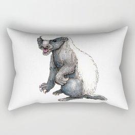 Sassy Honey Badger Rectangular Pillow