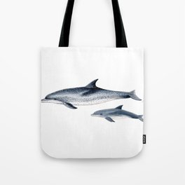 Atlantic spotted dolphin Tote Bag