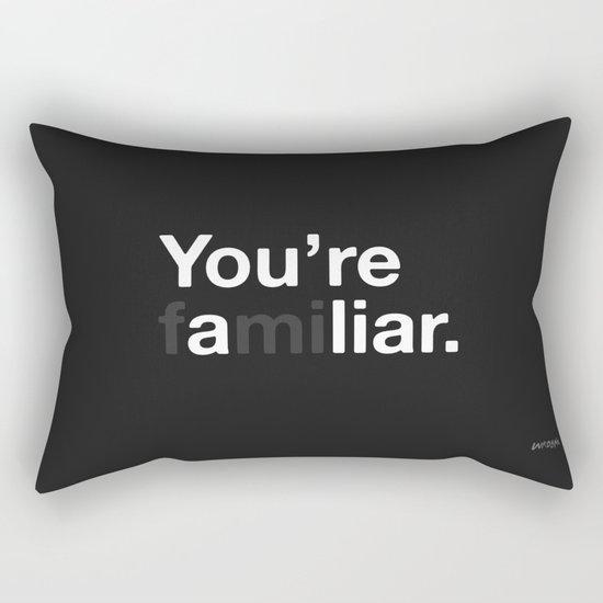Liar Rectangular Pillow