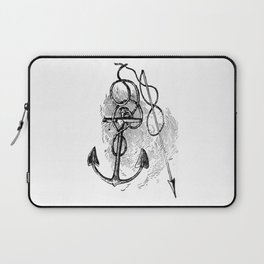 Anchor and harpoon. Laptop Sleeve