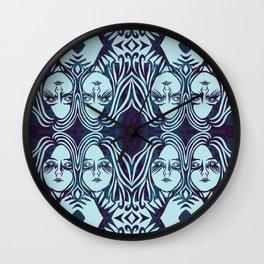 sister, sister Wall Clock