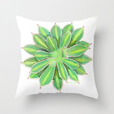 Aesthetic Agave Throw Pillow
