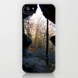 Rock House, Hocking Hills, Ohio iPhone Case