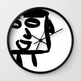 nonchalant look Wall Clock
