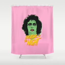 Creature of the night -The Rocky Horror Picture Show Shower Curtain