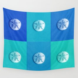 Sand Dollars - multibluegreens! Wall Tapestry