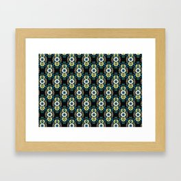 Brace (Black) Framed Art Print