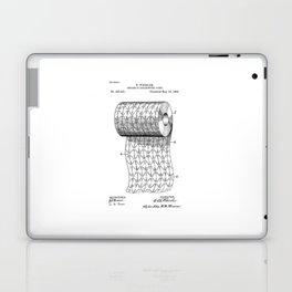 patent art Wheeler Process of ornamenting paper 1893 Laptop & iPad Skin